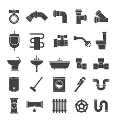 sanitary engineering set vector image