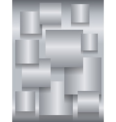 Steel square boards background vector