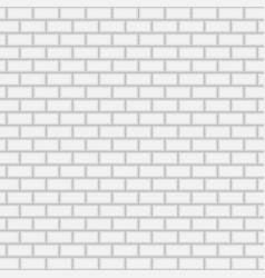 subway brick tile wall vector image