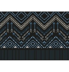 ethnic seamless tribal boho pattern vector image