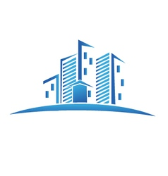 Buildings Real estate logo vector image vector image