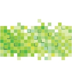 Green Abstract Pattern Square pattern vector image vector image