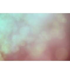 Abstract softly nature light bokeh background vector