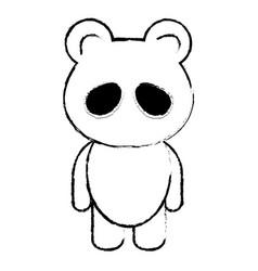 Animal panda vector