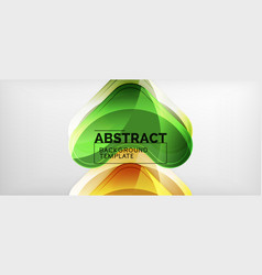 arrow background modern style geometry design vector image