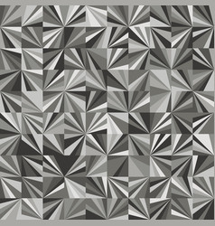 Funky stylized geo triangle square tiling pattern vector