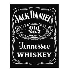 Jack daniels logo vector