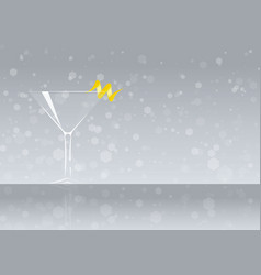 Official cocktail icon the unforgettable tuxedo vector