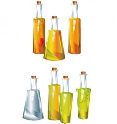 Oil vinegar vector
