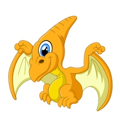 Pterodactyl cartoon vector