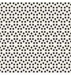 Seamless Black and White Lattice Pattern vector image