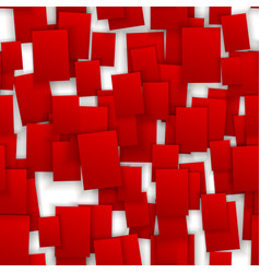 seamless red paper note background vector image