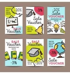 Set of discount coupons for stationary vector