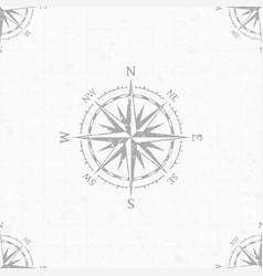 wind rose background vector image