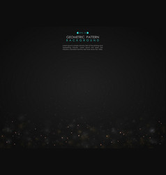 abstract gradient black background with small vector image
