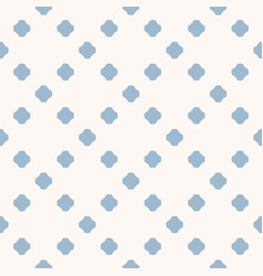 abstract minimal blue polka dot seamless pattern vector image