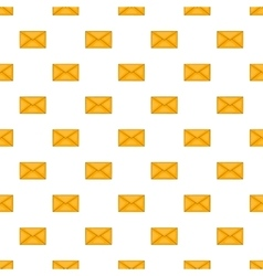 Envelope pattern cartoon style vector image