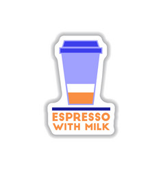 label frames and badges icons coffee emblem vector image