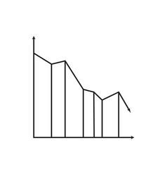 loss graphic icon vector image