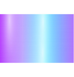 Metal plate with blue gradient and highlights vector