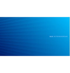 Minimalist deep blue abstract background 3d vector