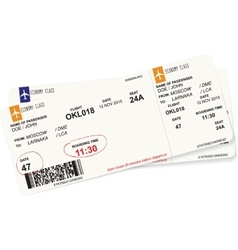 Pattern of a boarding pass vector