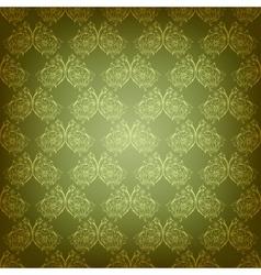 Vintage seamless damask ornament vector image