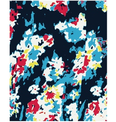 flower pattern texture vector image vector image