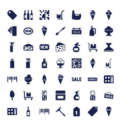 49 product icons vector