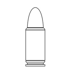 Bullets simple icon vector