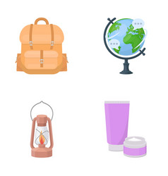 business history geography and other web icon in vector image