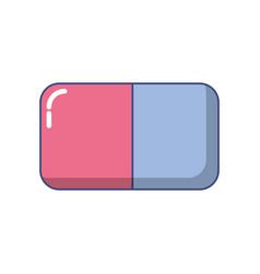 Eraser icon image vector