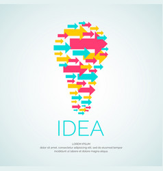 Idea conceptual vector