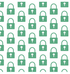 lock pattern background vector image