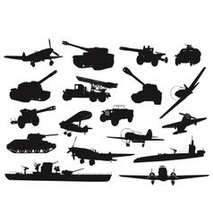 Military ww2 vector