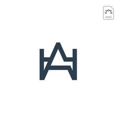 Royal king initial ag logo or symbol business vector