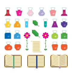 Alchemy Icons vector image vector image