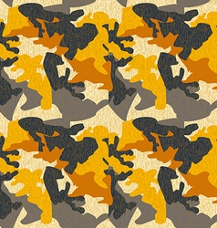 Camouflage pattern background seamless clothing vector image vector image