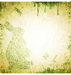 Easter Grunge Background vector