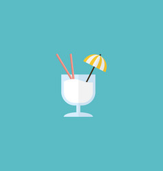 Flat icon cocktail element of vector
