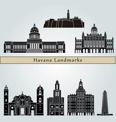 Havana v2 landmarks vector