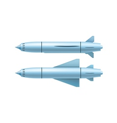 ruise missile vector image