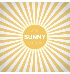 Sunburst EPS10 Background Sunny Stripes vector