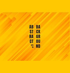 abstract geometric yellow and orange diagonal vector image