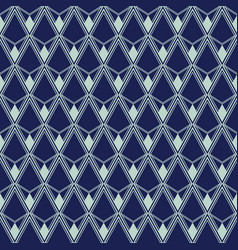 art deco seamless pattern geometrical background vector image