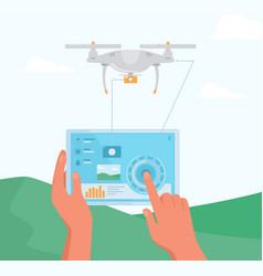 Drone controler vector