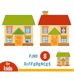 Find differences house vector
