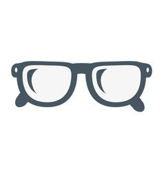 glasses lens cartoon vector image