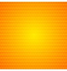 Orange abstract hexagonal texture background vector