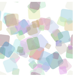 Seamless abstract square background pattern - vector